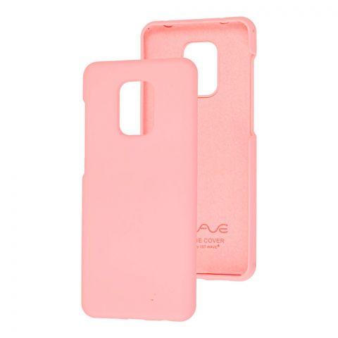 Чехол для Xiaomi Redmi Note 9S / 9 Pro / 9 Pro Max Wave Colorful-Light Pink