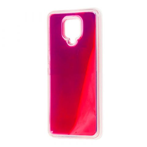 Чехол для Xiaomi Redmi Note 9S / 9 Pro / 9 Pro Max Жидкий Песок-Violet
