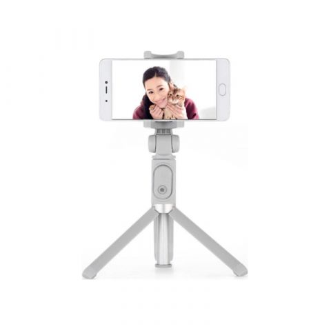 Беспроводной монопод для селфи Xiaomi Selfie Stick Tripod Grey FBA4063CN с Bluetooth