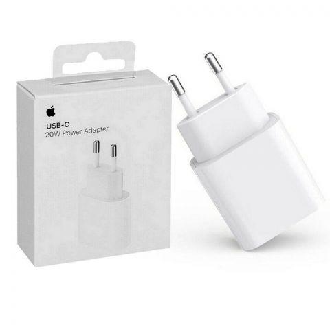 Зарядное устройство Apple iPhone 12|12 Pro|12 Pro Max 20W USB-C Power Adapter (MHJE3) Original