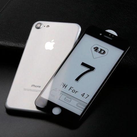 Защитное 3D стекло для iPhone 7/8 Black