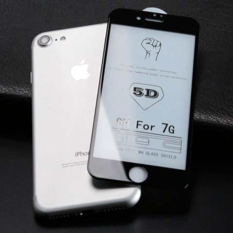 Защитное 3D стекло для iPhone 7 Plus/8 Plus Black