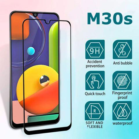 5D Защитное стекло для Samsung Galaxy M30s (M307) Full Glue