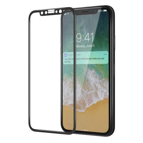 Защитное 3D стекло iPhone X/XS iMax Black