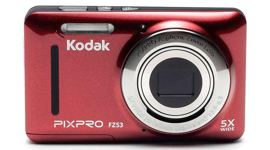 Камера для ютуб Kodak PIXPRO FZ53-RD фото