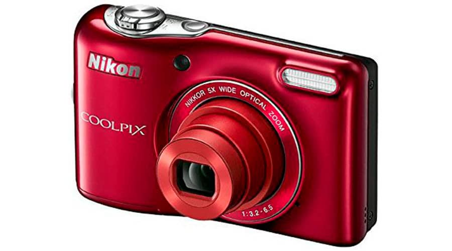 Камера для ютуб Nikon COOLPIX L32 фото
