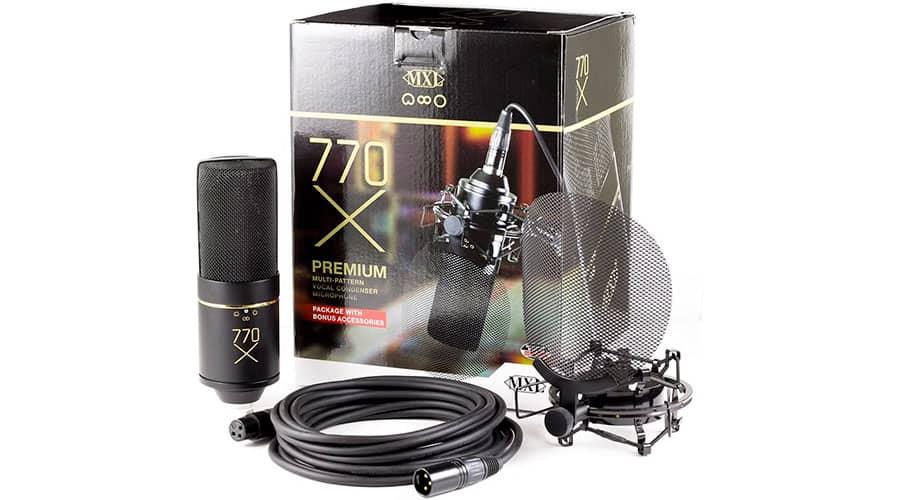 XLR MXL 770X фото