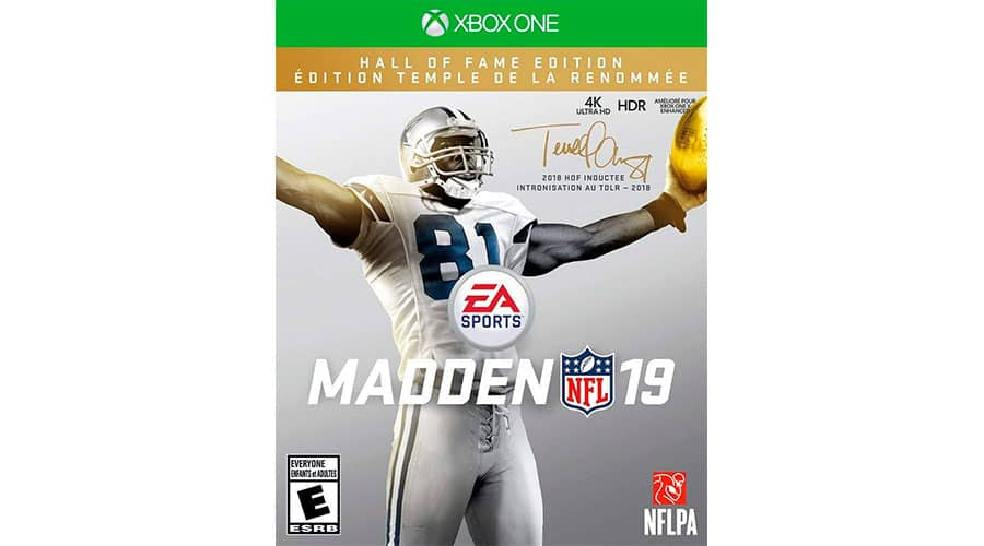 Спортивная игра для Xbox One X EA Madden 19: Hall of Fame Edition фото