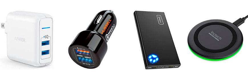 Зарядные устройства для телефонов и планшетов фото