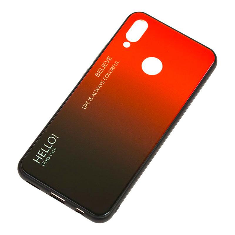 Чехол на Huawei P Smart 2019 Hello Glass фото