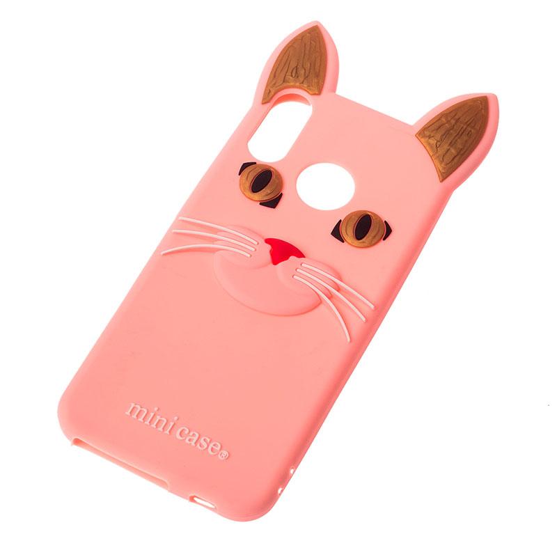 Чехол на Huawei P Smart Plus Кот Mini фото