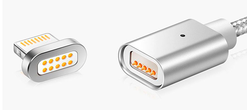 Превосходное качество магнитного кабеля айфон фото