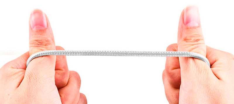 Нейлоновый Магнитный кабель usb Type-C фото