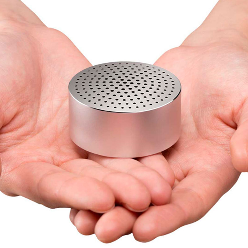 Портативная колонка Xiaomi Bluetooth Speaker Portable silver фото