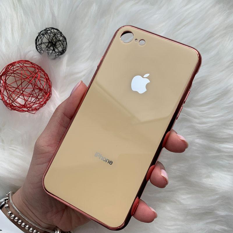Чехол для iPhone 6/6S Glass Case Logo фото