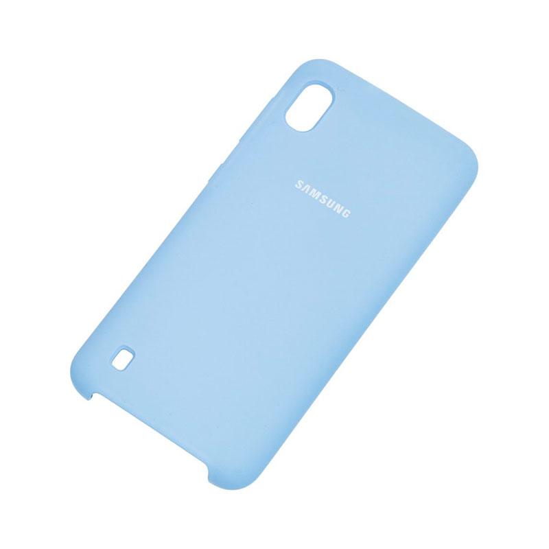 Чехол для Samsung Galaxy A10 (A105) Soft Touch Silicone Cover фото 2