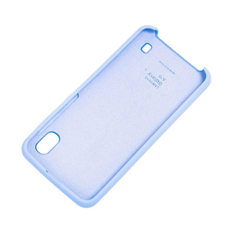 Чехол для Samsung Galaxy A10 (A105) Soft Touch Silicone Cover фото 1