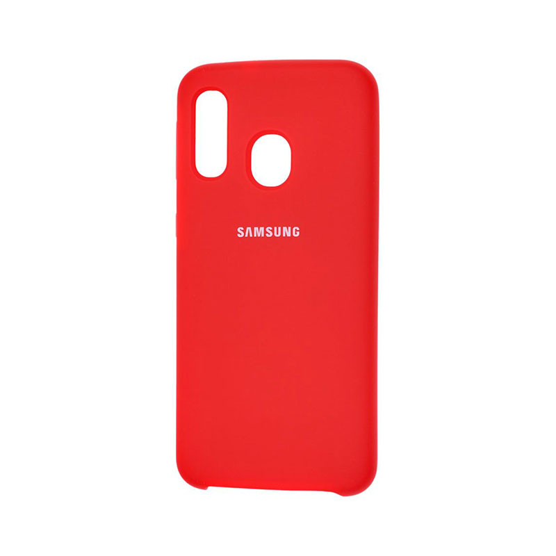 Чехол для Samsung Galaxy A40 (A405) Soft Touch Silicone Cover фото 3