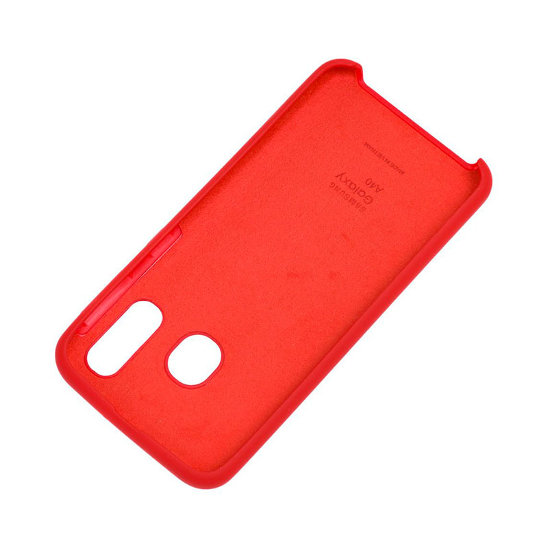 Чехол для Samsung Galaxy A40 (A405) Soft Touch Silicone Cover фото 1