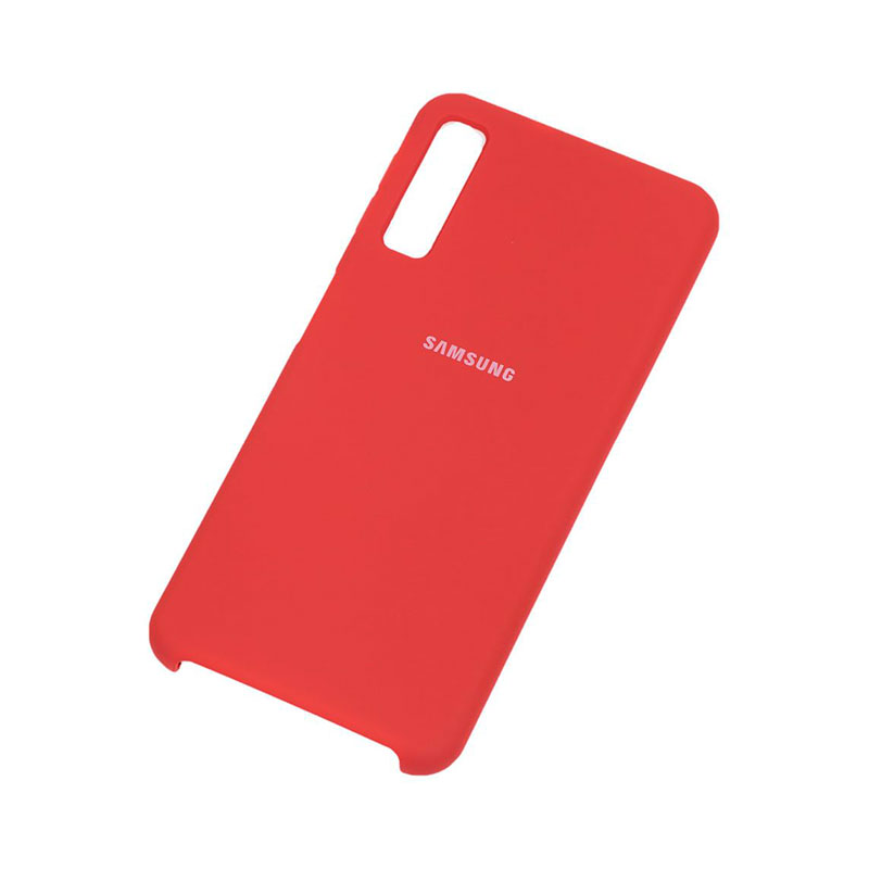 Чехол для Samsung Galaxy A7 2018 (A750) Silicone Cover фото 2