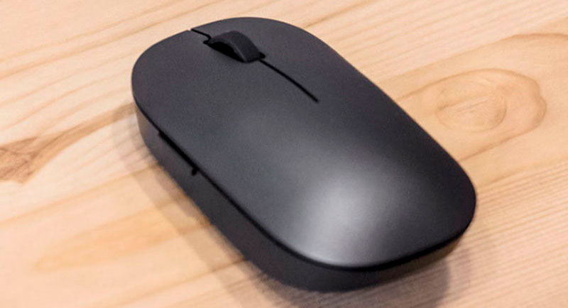 Беспроводная мышь Xiaomi Mi Mouse 2 Wireless Black (HLK4012GL) фото 3