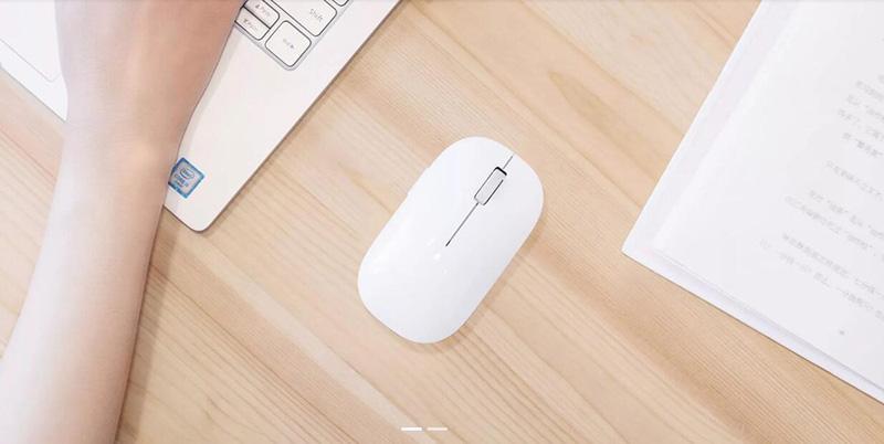 Беспроводная мышь Xiaomi Mi Mouse 2 Wireless White (HLK4013GL) фото 3