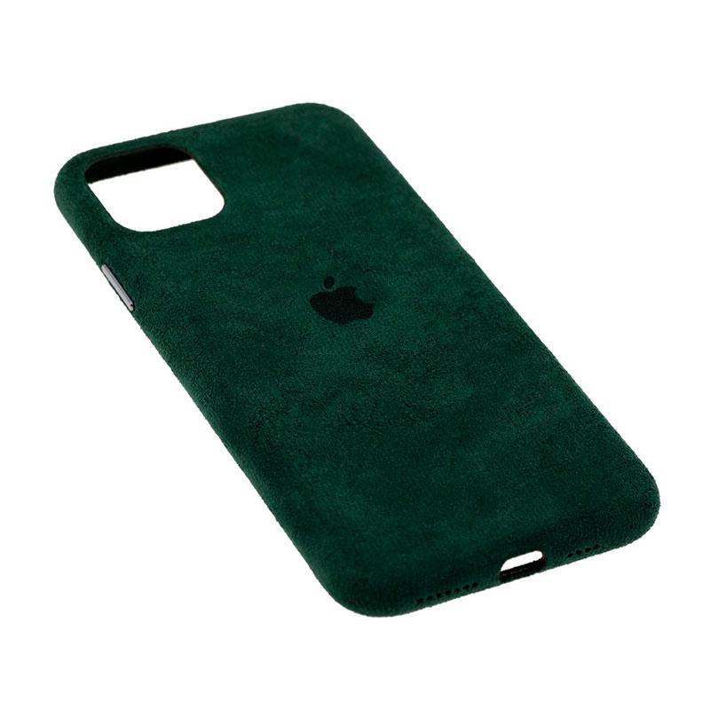 Замшевый чехол для iPhone 11 Pro Alcantara фото 2