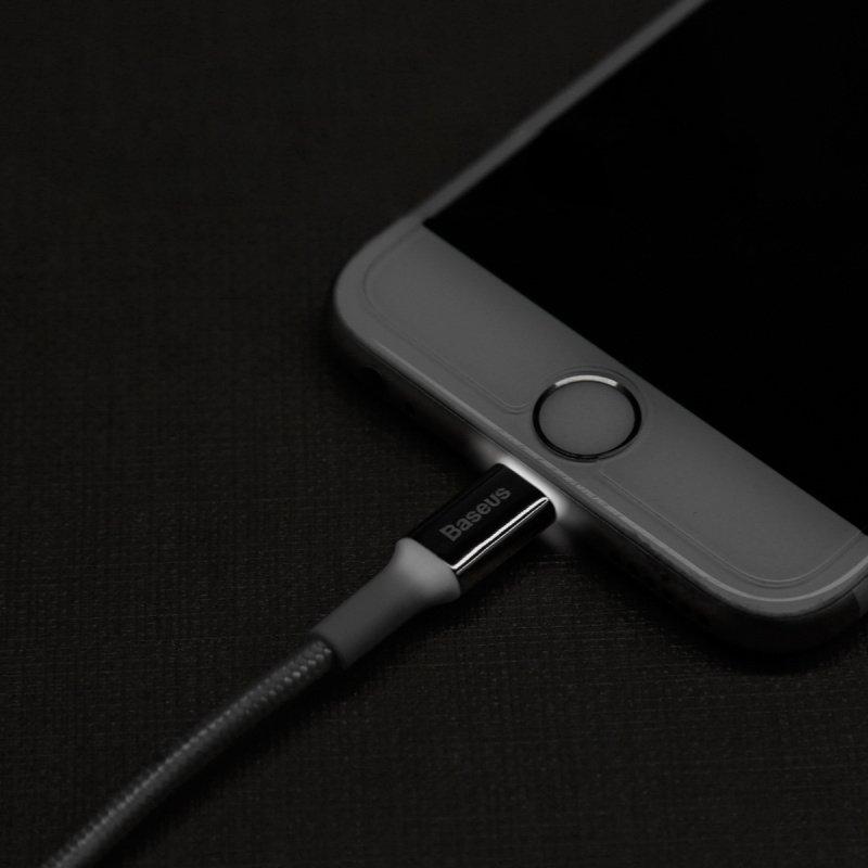 Lightning кабель для iPhone Baseus Shining Cable 2.0A 1m фото 3