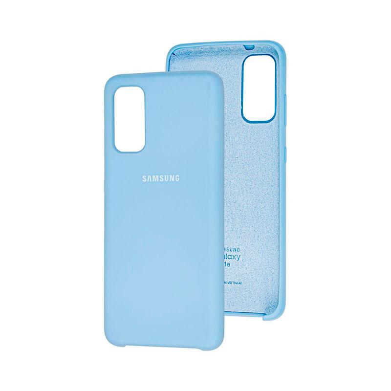 Чехол для Samsung Galaxy S20 (G980) Soft Touch Silicone Cover фото 3