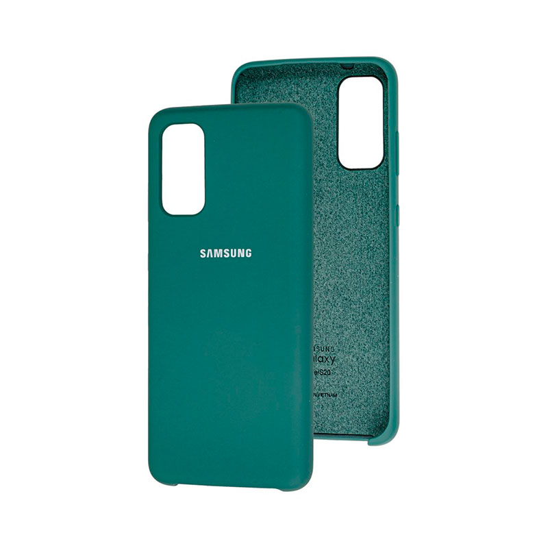 Чехол для Samsung Galaxy S20 (G980) Soft Touch Silicone Cover фото 1