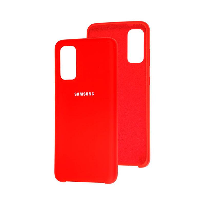 Чехол для Samsung Galaxy S20 (G980) Soft Touch Silicone Cover фото 2