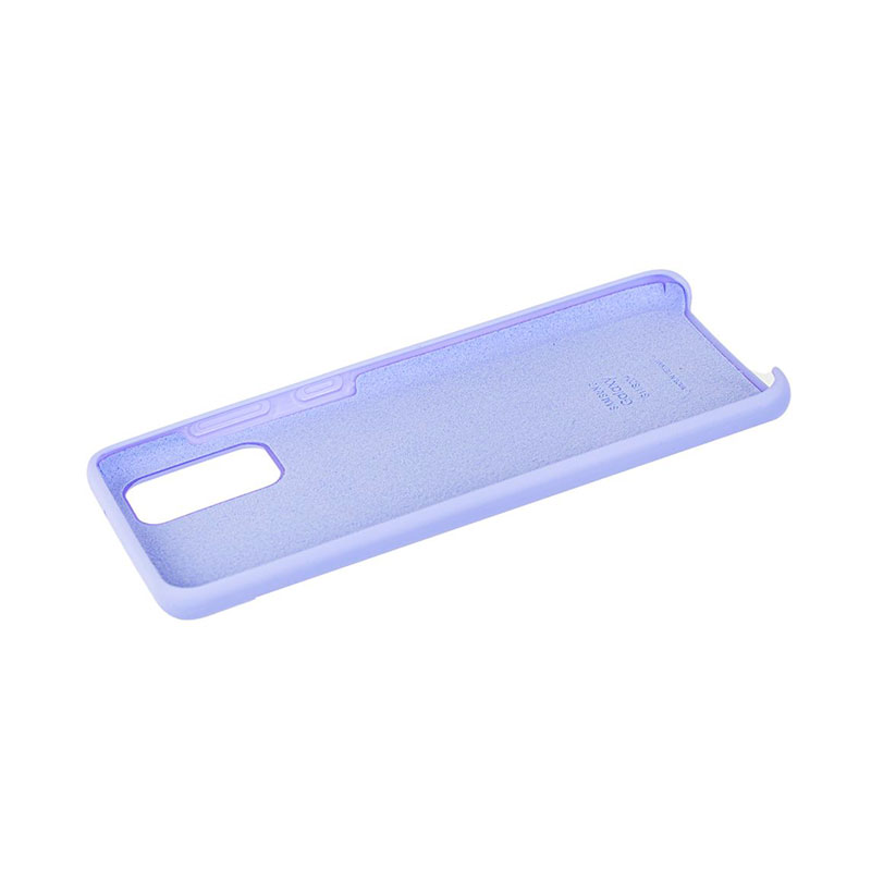 Чехол для Samsung Galaxy S20 Plus (G985) Soft Touch Silicone Cover фото 2