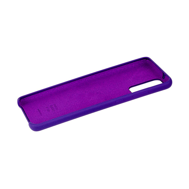 Чехол для Samsung Galaxy S20 Plus (G985) Soft Touch Silicone Cover фото 3
