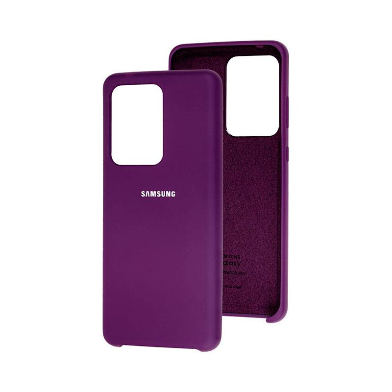 Чехол для Samsung Galaxy S20 Ultra (G988) Soft Touch Silicone Cover фото 1