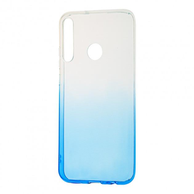 Силиконовый чехол для Huawei P40 Lite E Gradient Design фото 1