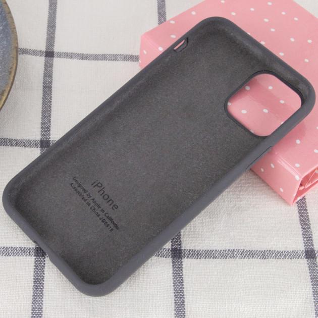 Силиконовый чехол для iPhone 12 Pro Max Silicone Case Full фото 3