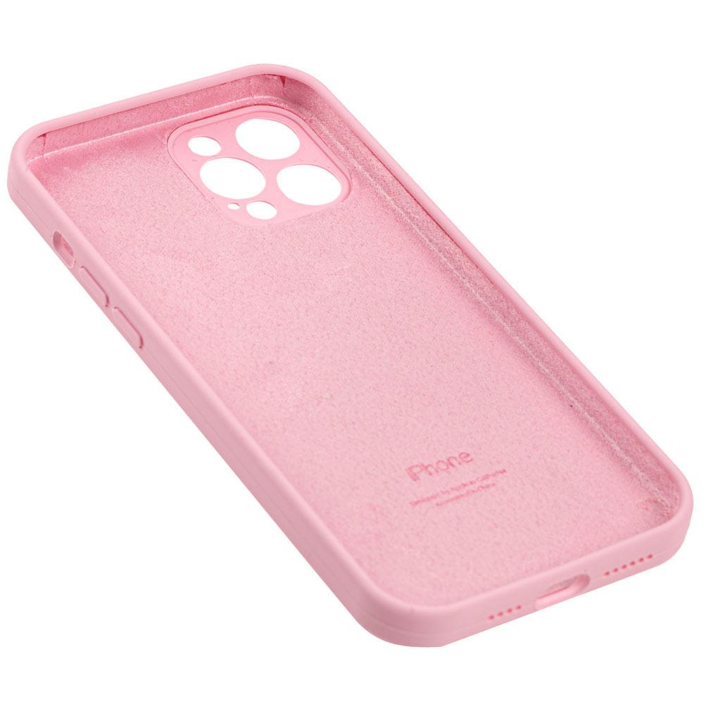 Силиконовый чехол для iPhone 12 / 12 Pro Silicone Case Full с защитой камеры фото 2