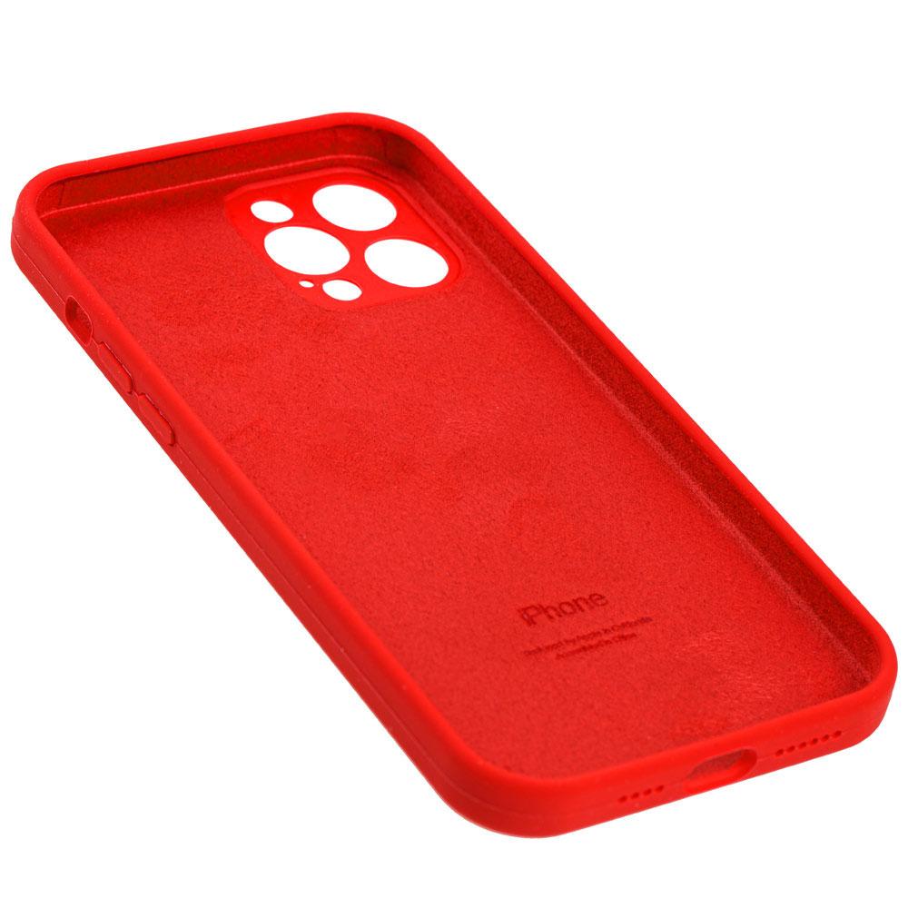 Силиконовый чехол для iPhone 12 / 12 Pro Silicone Case Full с защитой камеры фото 3