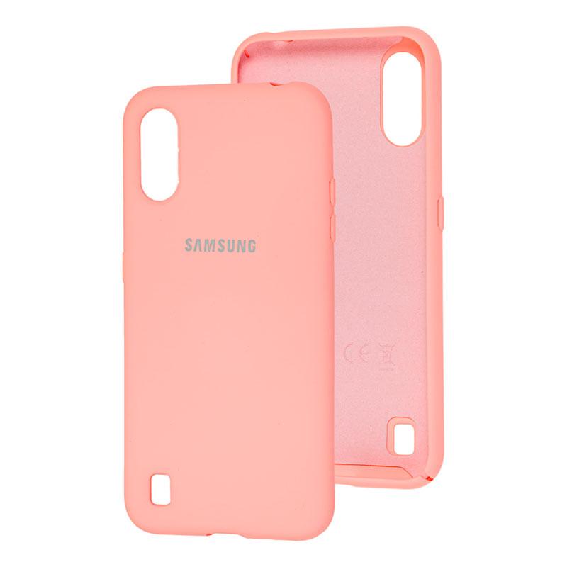 Чехол для Samsung Galaxy A01 (A015) Silicone Full фото 3