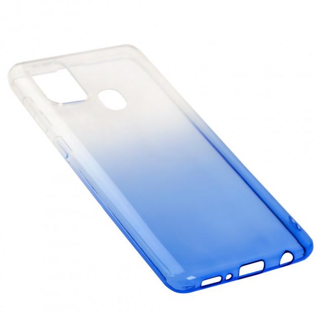 Силиконовый чехол для Samsung Galaxy A21s (A217) Gradient Design фото 2