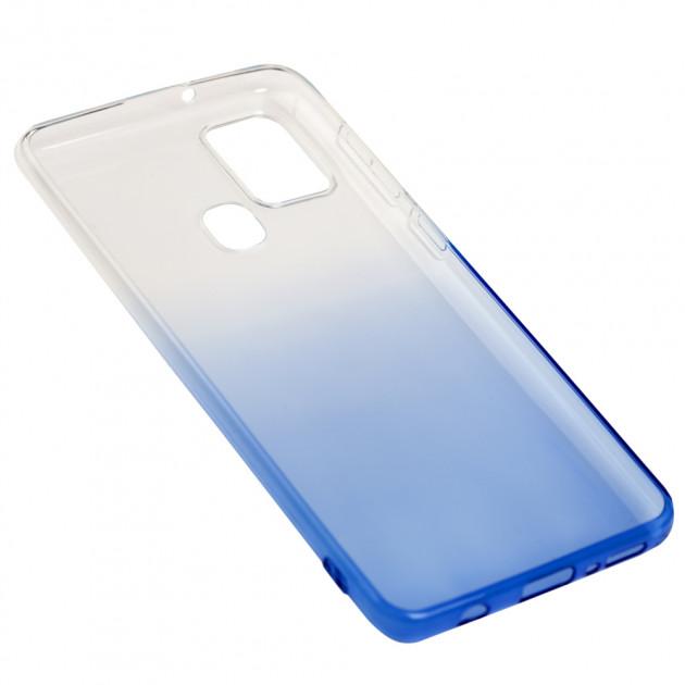 Силиконовый чехол для Samsung Galaxy A21s (A217) Gradient Design фото 3