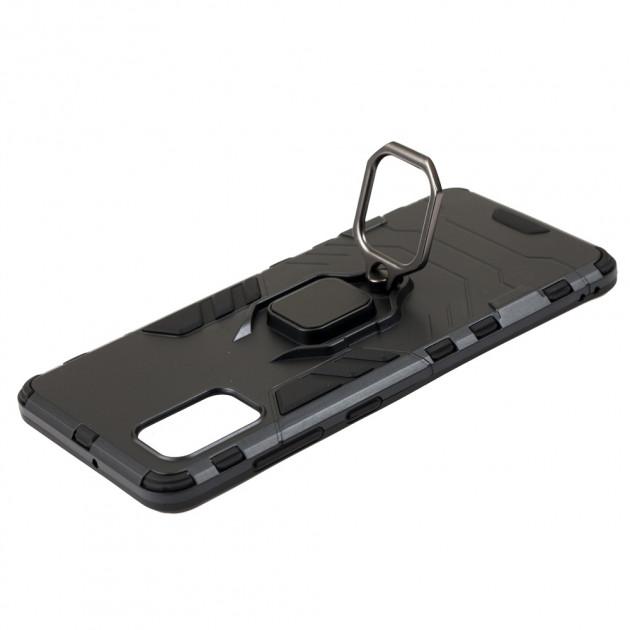 Противоударный чехол для Samsung Galaxy A41 (A415) Transformer Ring с кольцом фото 2
