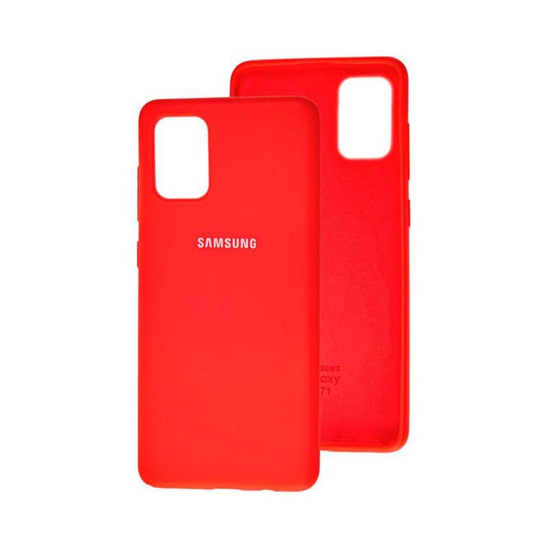 Чехол для Samsung Galaxy A71 (A715) Silicone Full фото 3