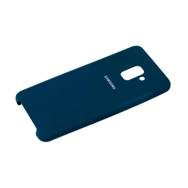 Чехол для Samsung Galaxy A8 Plus 2018 (A730) Soft Touch Silicone Cover фото 2