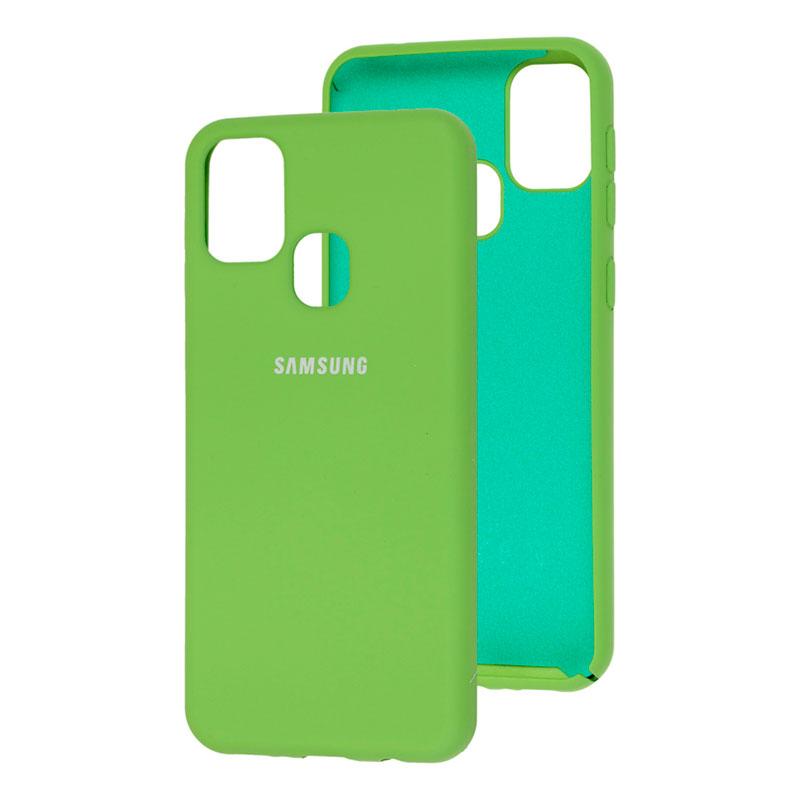 Силиконовый чехол для Samsung Galaxy M31 (M315) Silicone Full фото 2