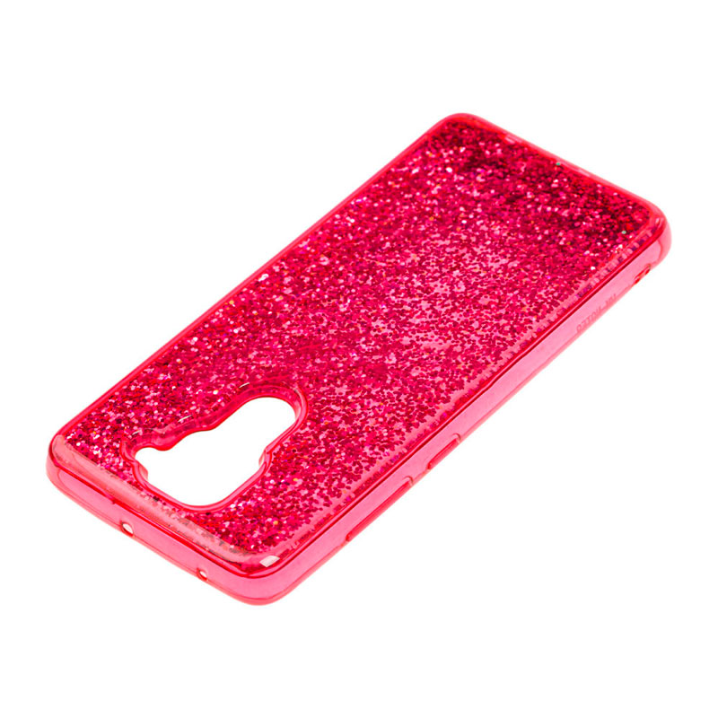 Чехол с блестками для Xiaomi Redmi Note 9 Sparkle Glitter фото 2