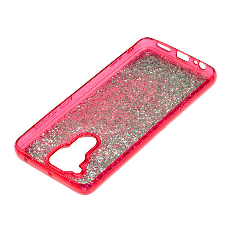 Чехол с блестками для Xiaomi Redmi Note 9 Sparkle Glitter фото 3
