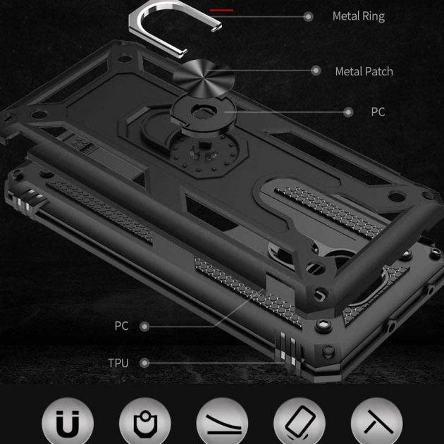 Противоударный чехол для Xiaomi Redmi Note 9 Serge Ring фото 2