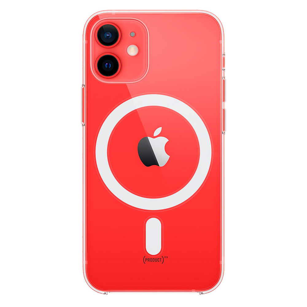 Прозрачный чехол для iPhone 12 Mini Clear Case With MagSafe фото 1