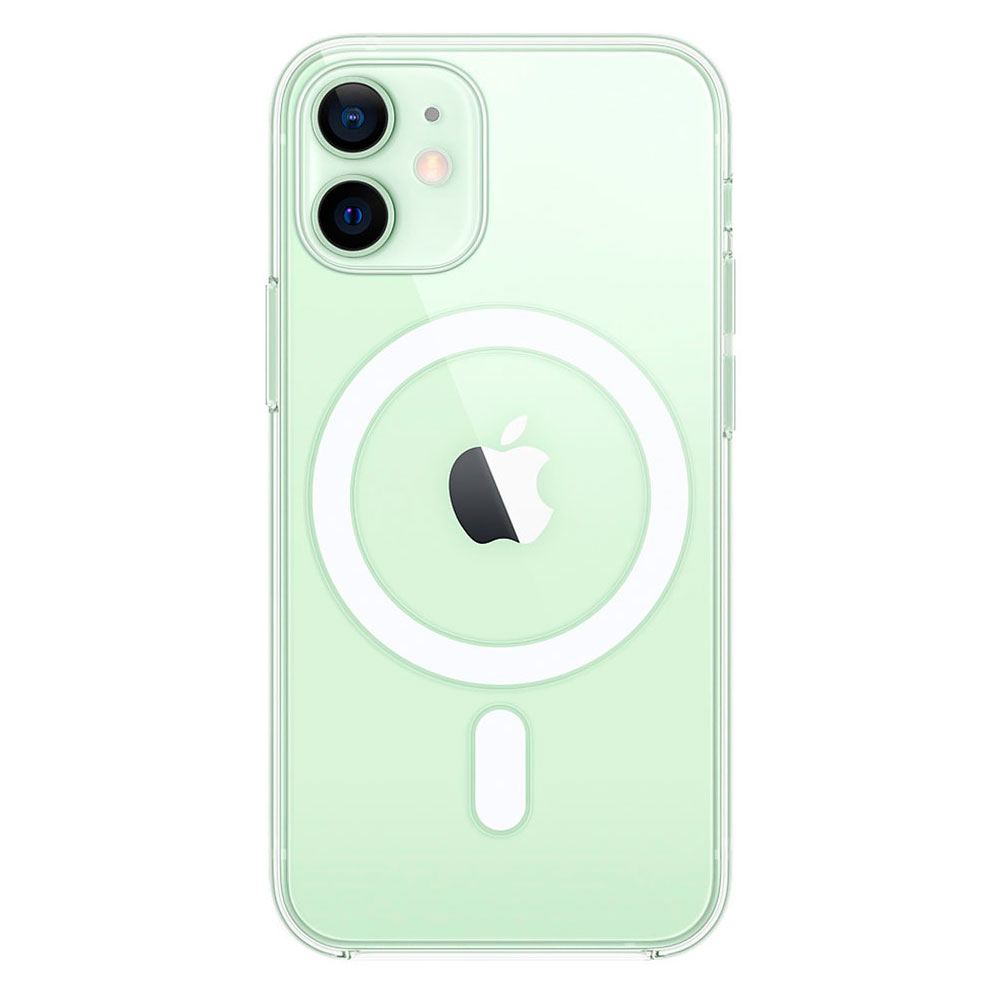 Прозрачный чехол для iPhone 12 Mini Clear Case With MagSafe фото 2